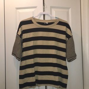 Urban Outfitters BDG Oversized Striped Shirt
